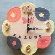 7歳製作時計*キッズ陶芸