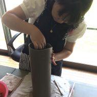 大人さま陶芸*花器製作