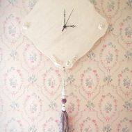Cherie*壁掛け時計タッセル付き